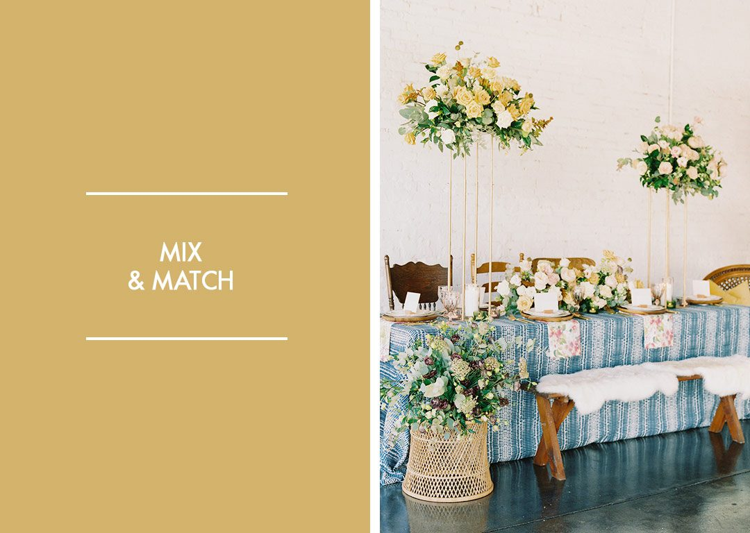Mix And Match Mix And Match Design Elements For An Instagrammable Tablescape