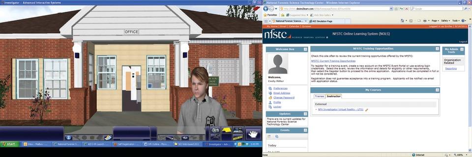 Virtual reality A reality for crime scene training