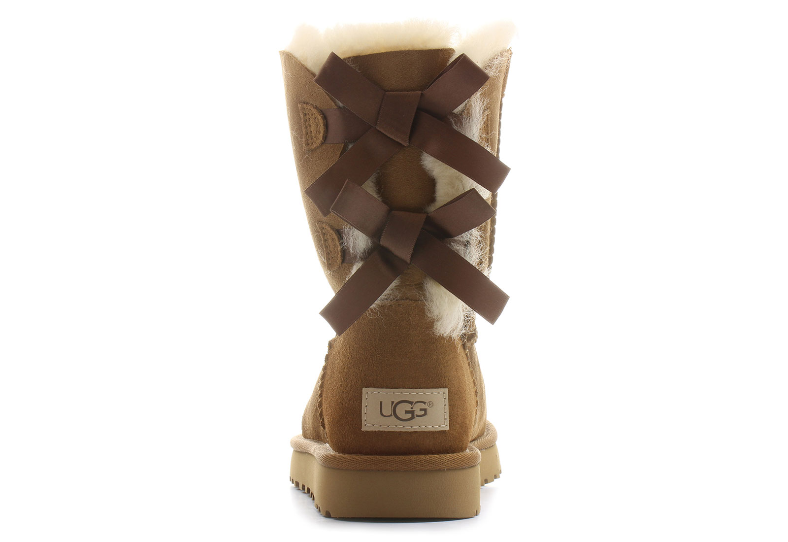 Ugg Boots Big Kids Bailey Bow Blue Sky Uk 4 Division Of