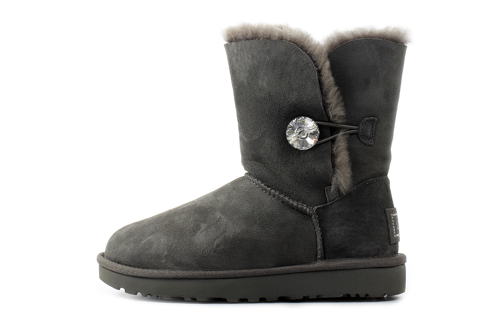 Ugg Boots Bailey Button Bling 1016553 Grey Online