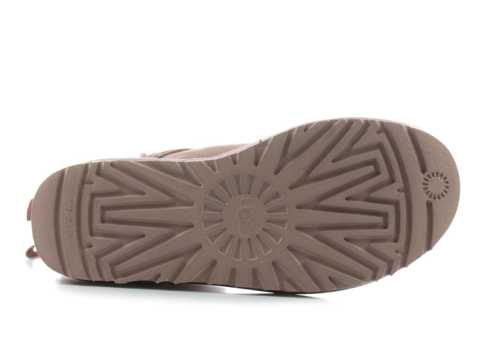 Ugg Niske Cipele Roze Cizme Mini Bailey Bow Ii Metallic