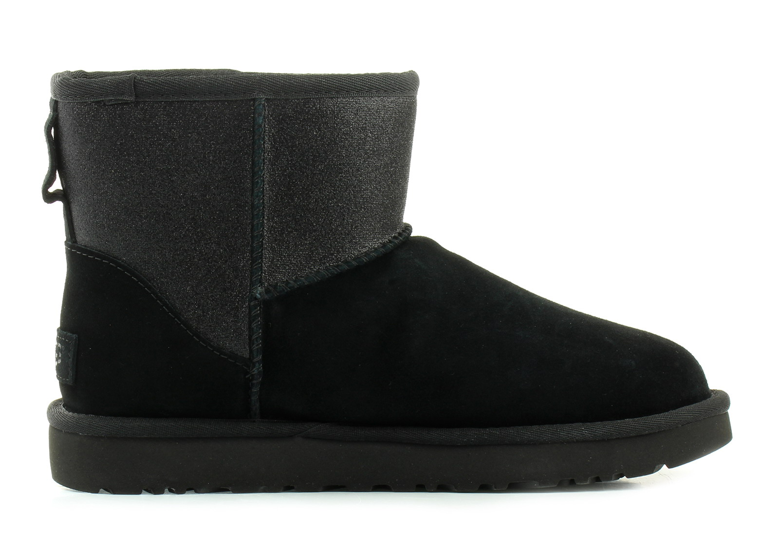 Ugg Boots Classic Mini Ugg Sparkle 1098452 Blk