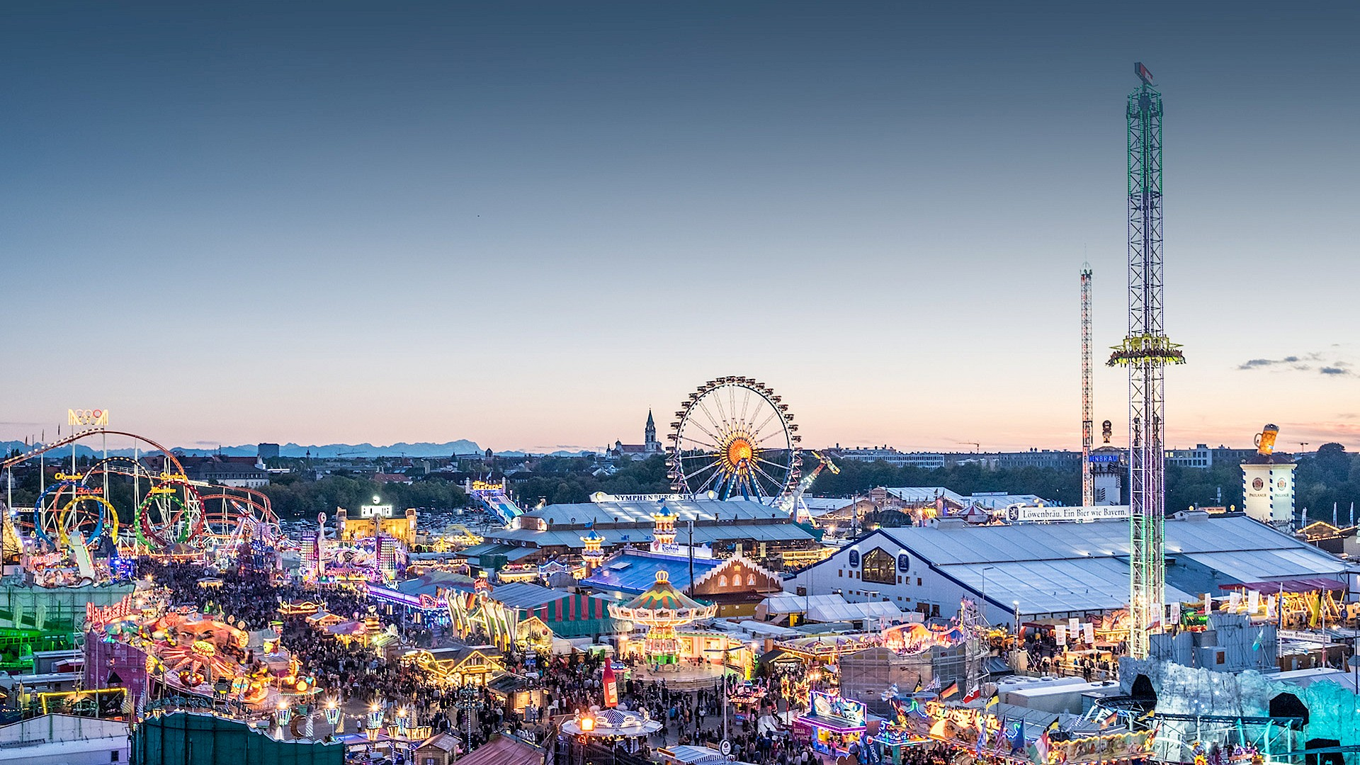 Plan Von München Oktoberfest 2019 Oktoberfest De The Official Website For
