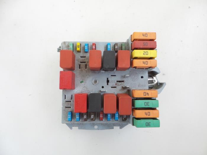 Fiat Ducato Fuse box - car parts