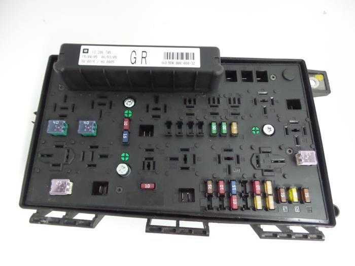 Opel Astra Fuse box - car parts