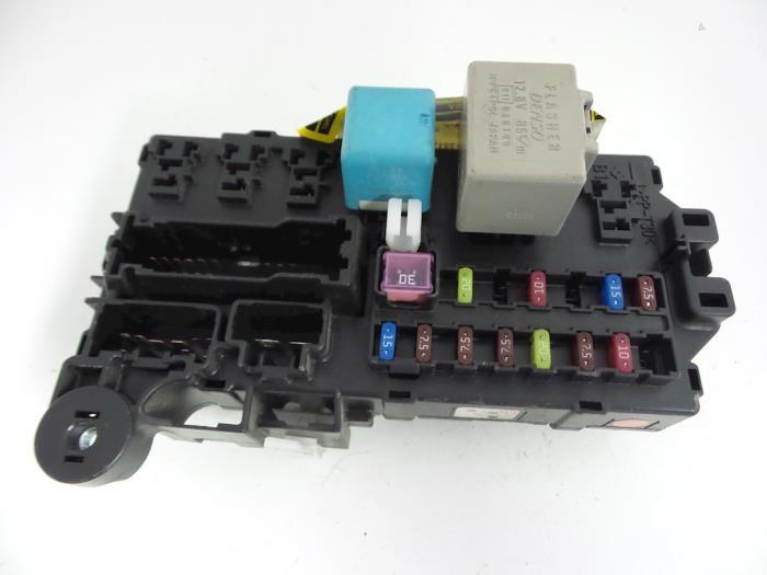 Daihatsu Sirion 2006 Fuse Box Wiring Schematic Diagram