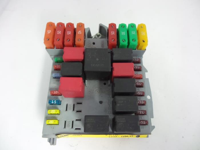 Fiat Bravo Fuse Box Layout Wiring Diagram
