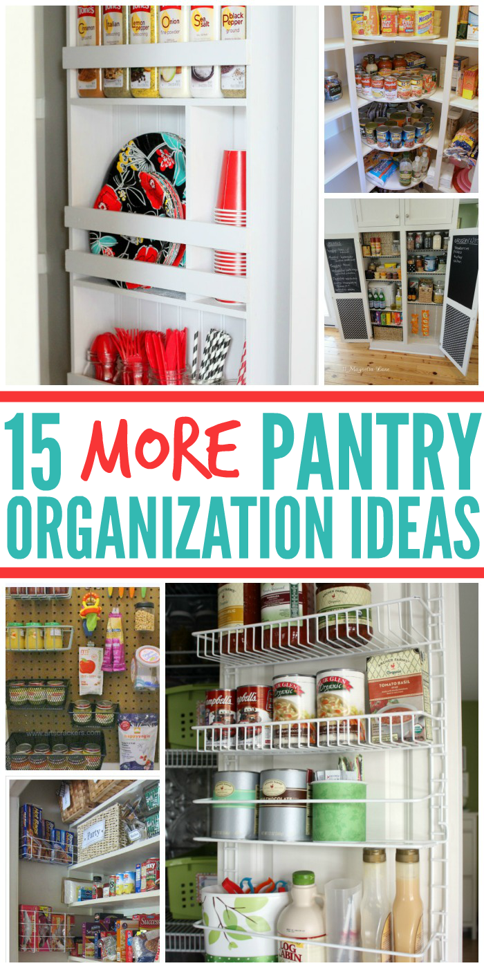 15 More Pantry Organization Ideas