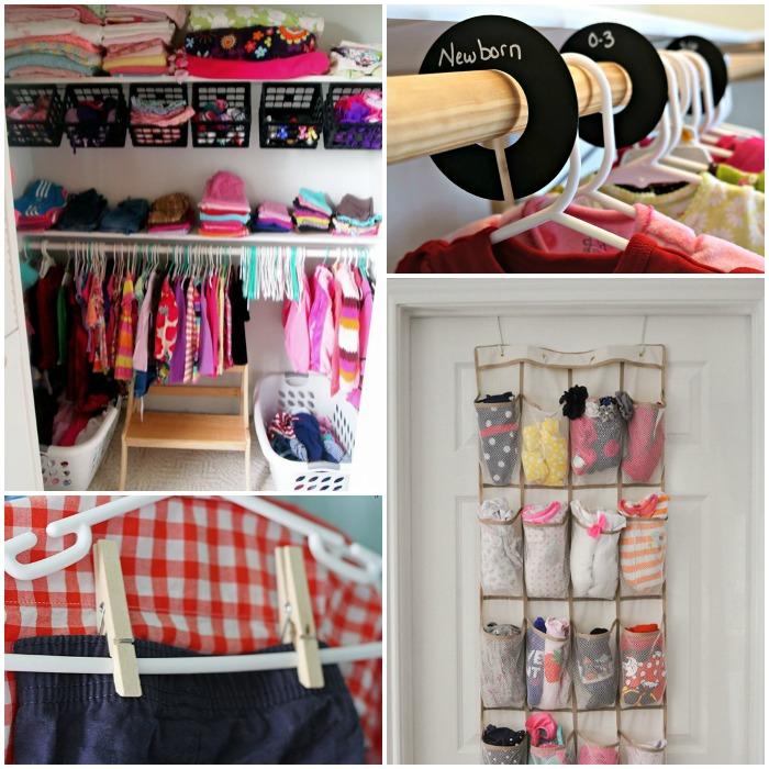 15 Totally Genius Ways to Organize Baby Clothes