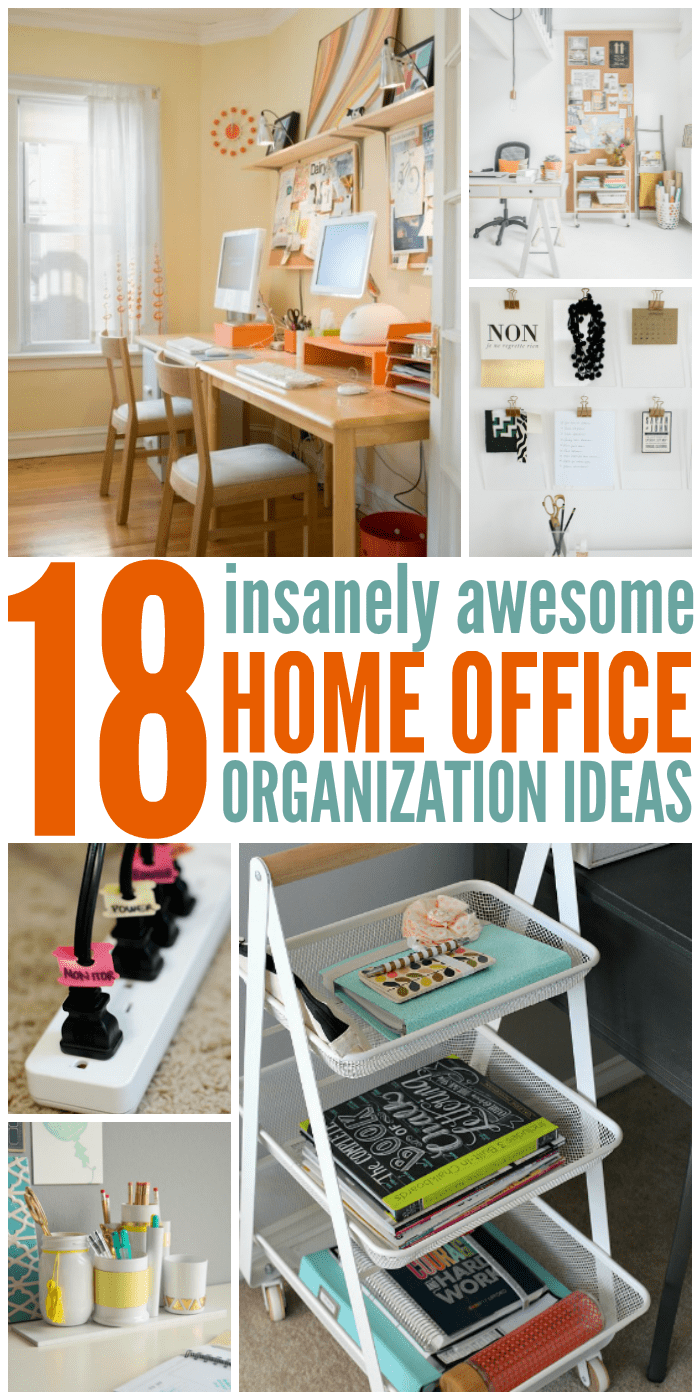 Office Home 18 Insanely Awesome Home Office Organization Ideas