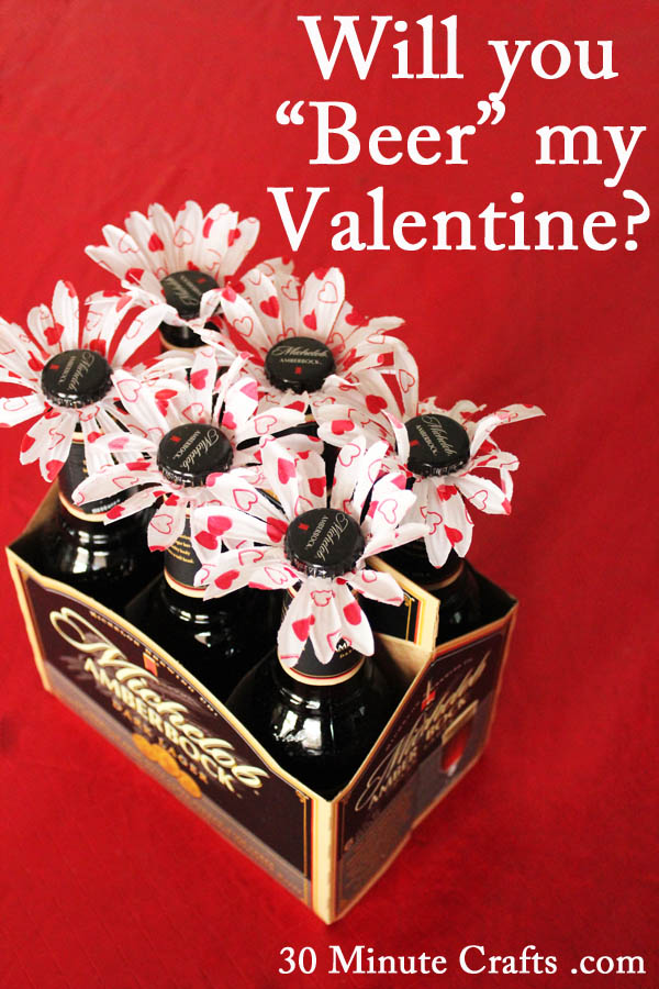 15 Cool DIY Valentineu0027s Day Gifts for Him - valentines day gifts