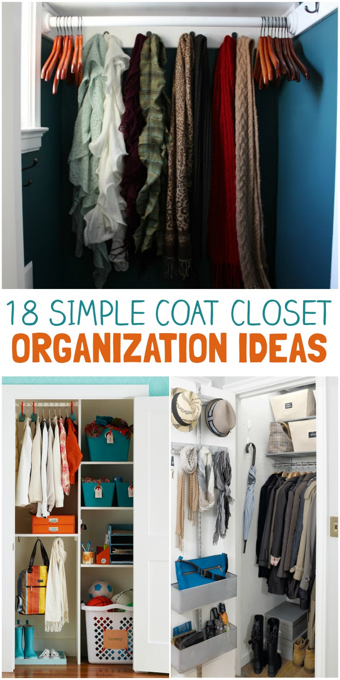 Closet Organization 18 Coat Closet Organization Tricks For Busy Families