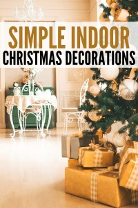 Simple Indoor Christmas Decorations For Your Home