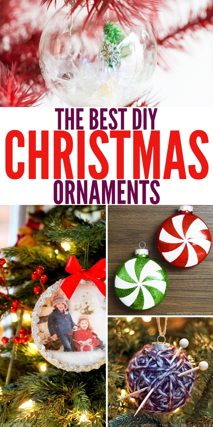 Diy Christmas Ornaments The Best Diy Christmas Ornaments Ever To Decorate Your Tree