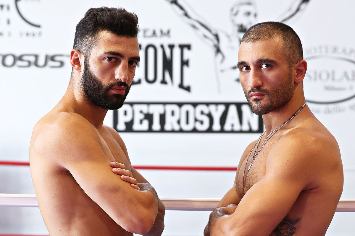 Ar Men Armen Petrosyan Expects To Emulate His Brother Giorgio S Success