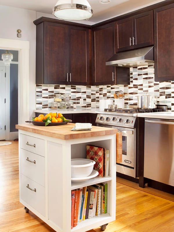 Small Kitchen Island Images 48 Amazing Space-saving Small Kitchen Island Designs