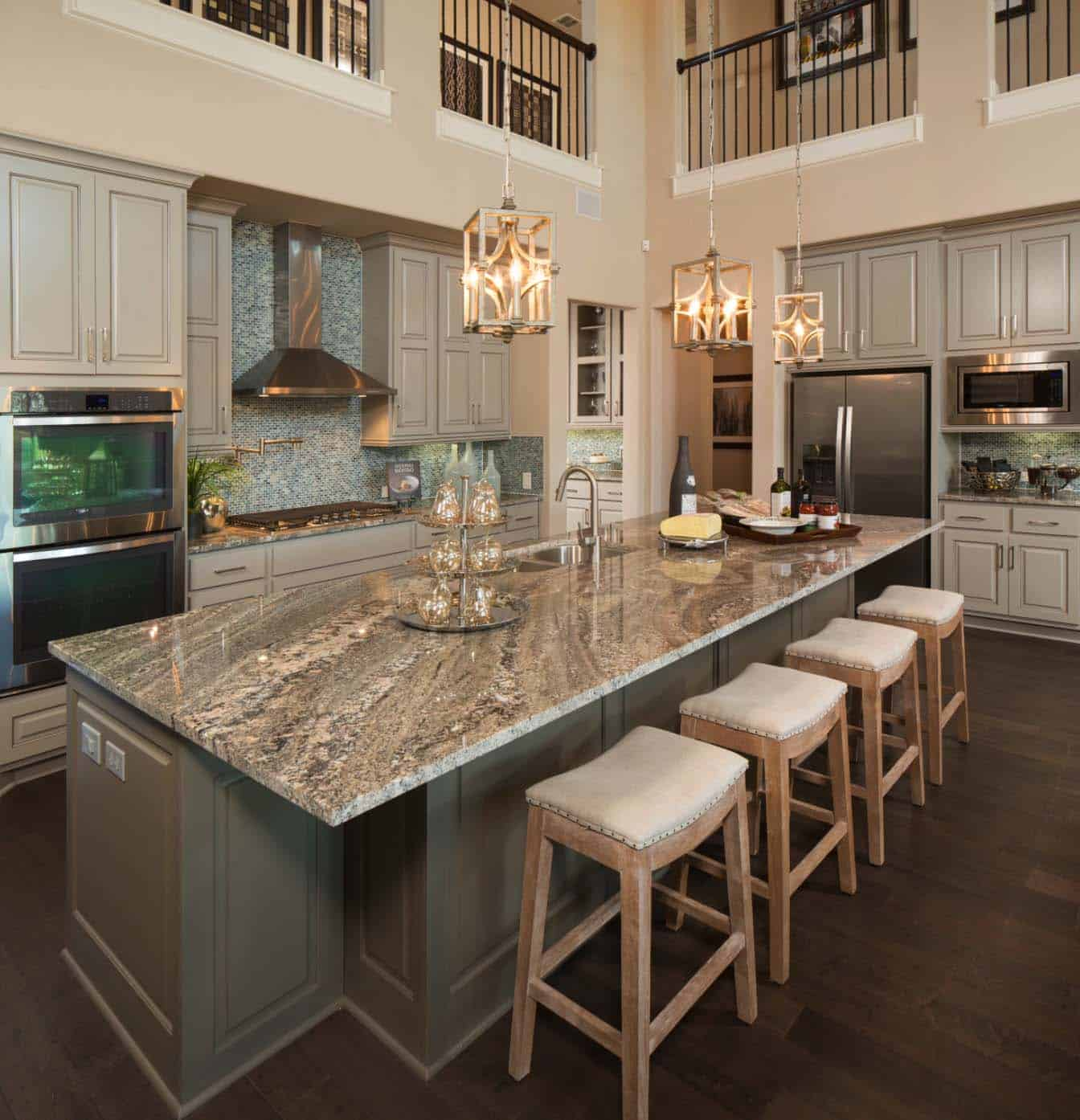 Different Countertop Surfaces 30 43 Brilliant Kitchen Island Ideas That Make A Statement