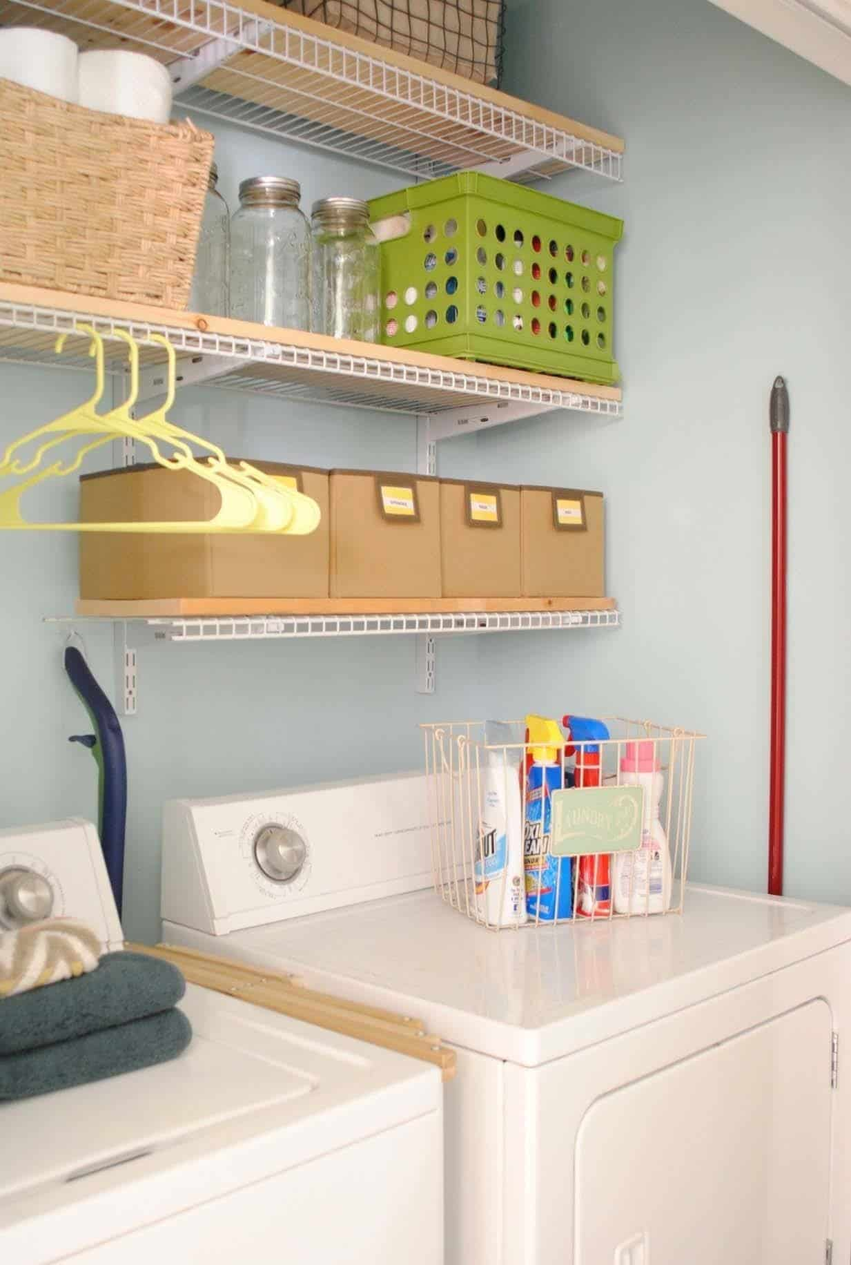 Decorative Laundry Items 37 Amazingly Clever Ways To Organize Your Laundry Room