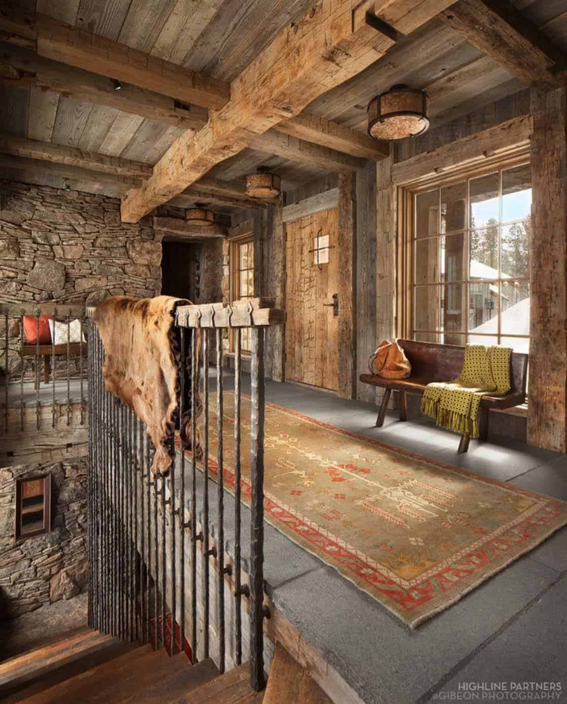 Cucina Interior Design Rustic A Rustic Mountain Retreat Perfect For Entertaining In Big Sky