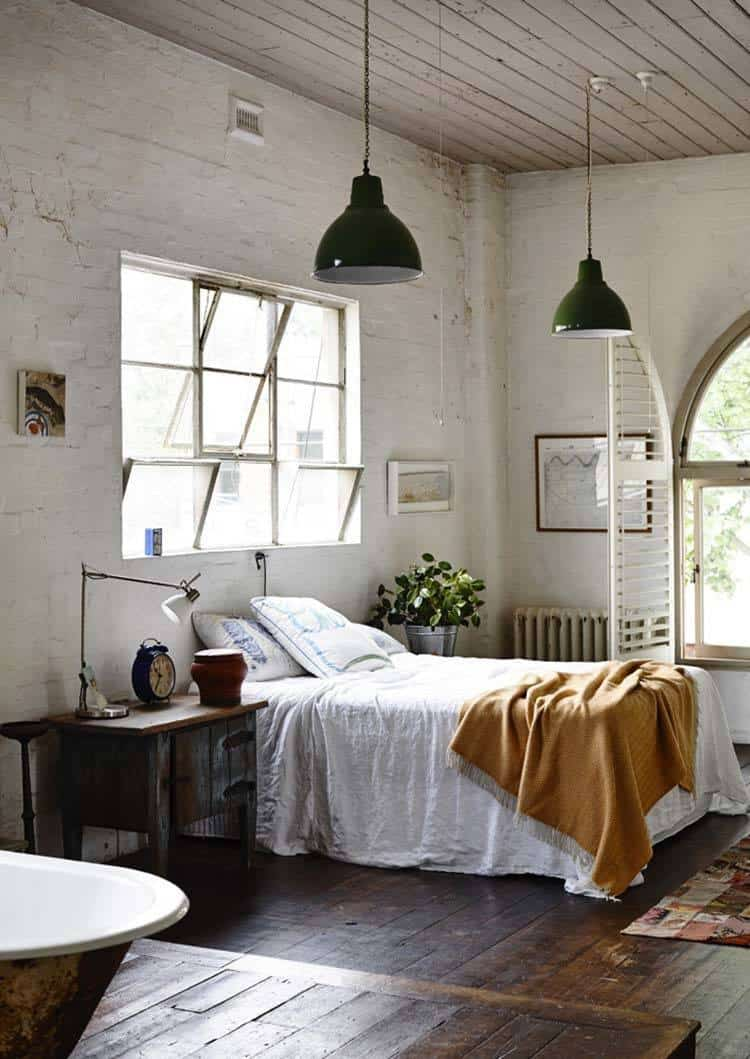 Schlafzimmer Modern Style 35 Edgy Industrial Style Bedrooms Creating A Statement