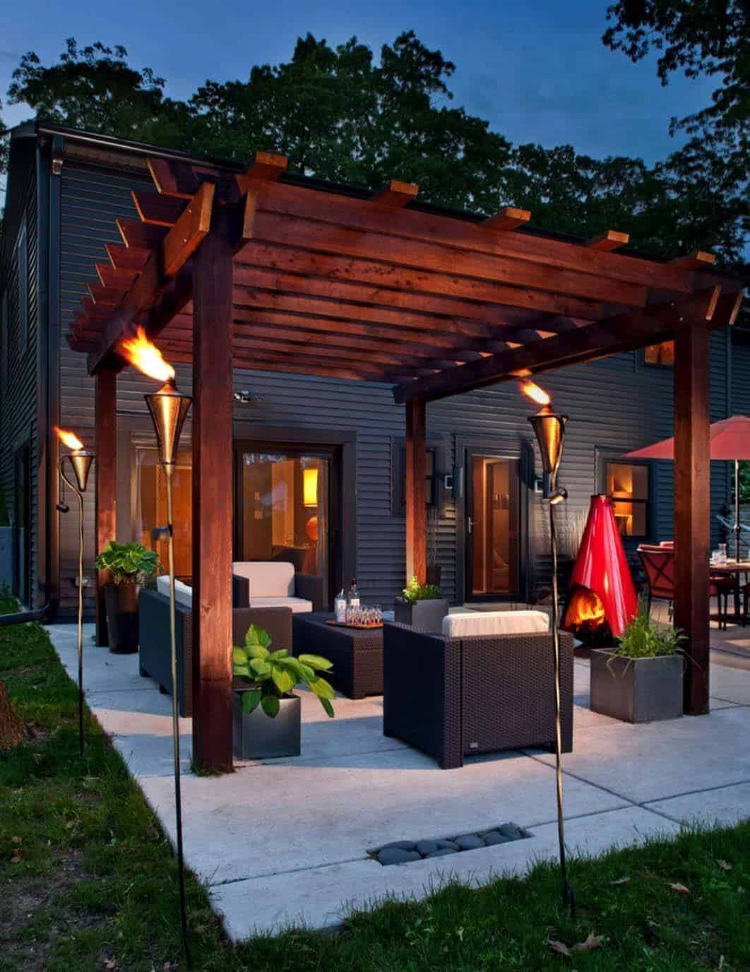 Patio Layout Designs 35 Modern Outdoor Patio Designs That Will Blow Your Mind