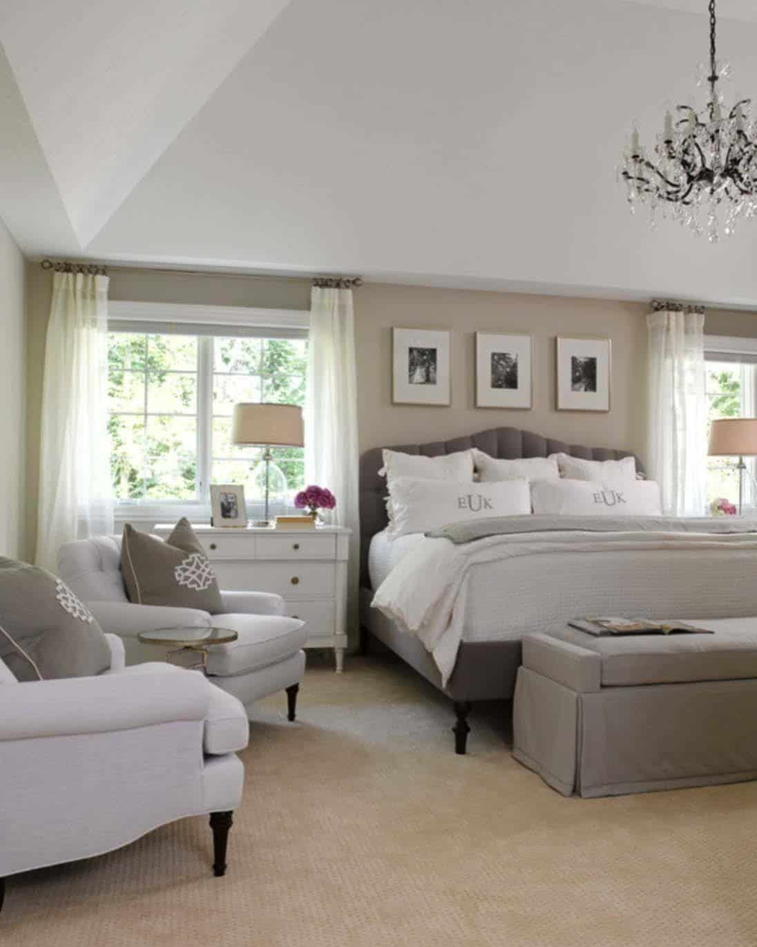 Large Bedroom Inspiration 35 43 Spectacular Neutral Bedroom Schemes For Relaxation