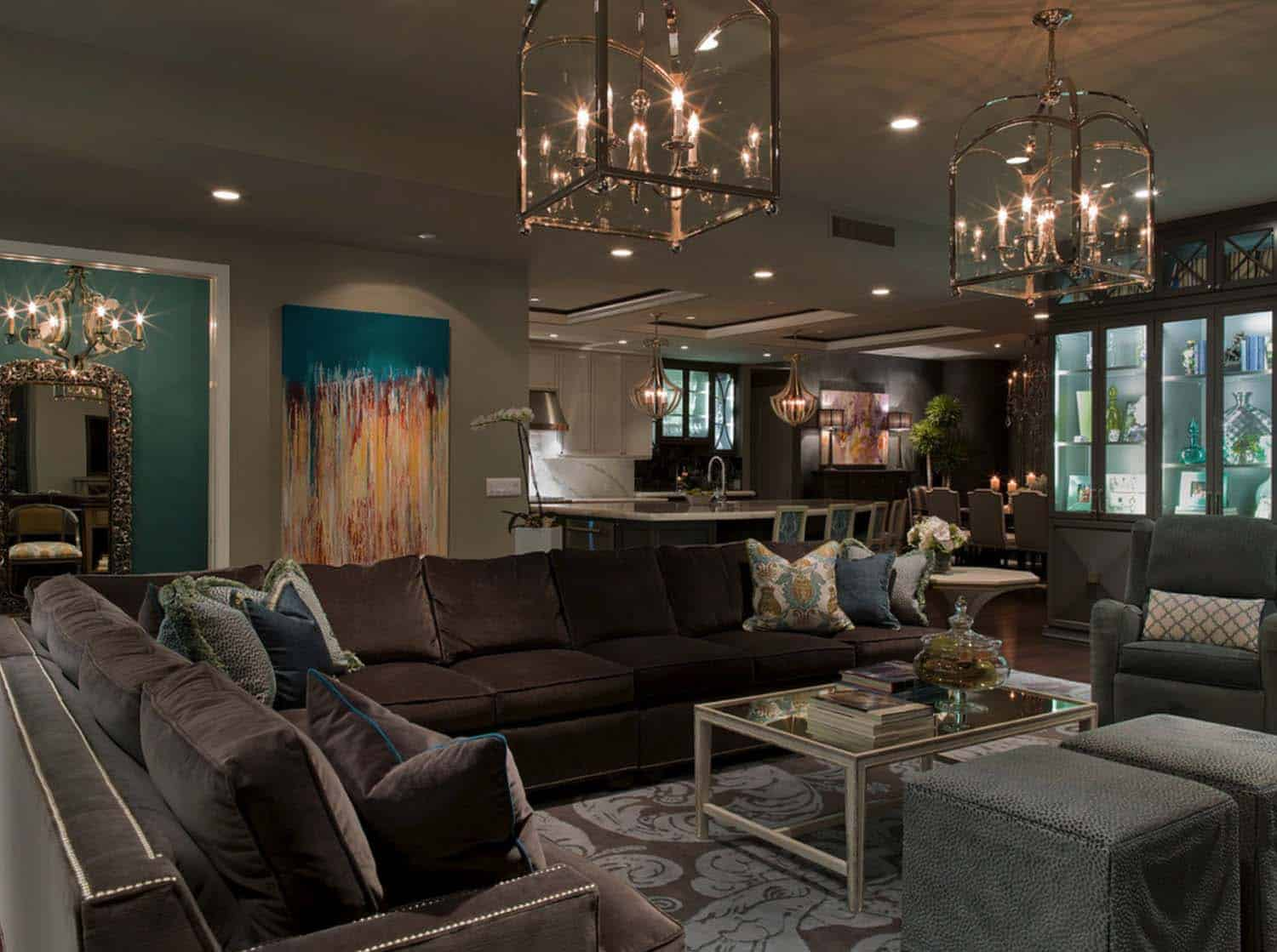 Aqua Living Room Decorating Ideas Gorgeous Lounge Wohnzimmer 38 Elegant Living Rooms That Are Brilliantly Designed