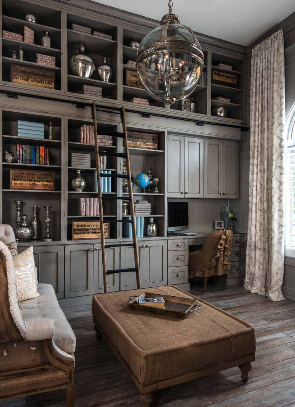 Office Home 28 Dreamy Home Offices With Libraries For Creative Inspiration