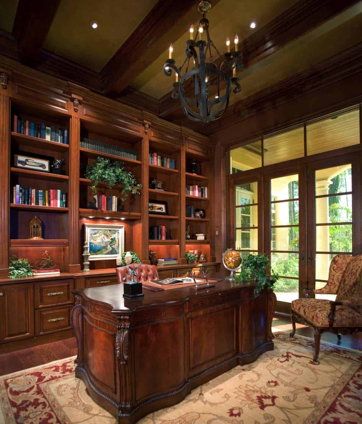 Home Office Library 28 Dreamy Home Offices With Libraries For Creative Inspiration