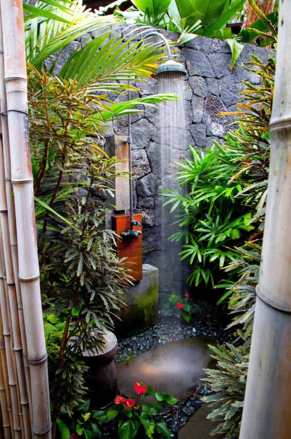 Backyard Shower 45 Stunning Outdoor Showers That Will Leave You Invigorated