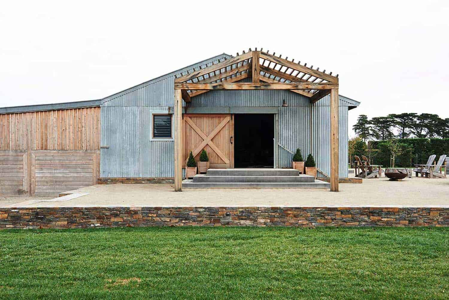 Design Schuur Thinking Outside The Box Modern Barn Conversion In Australia