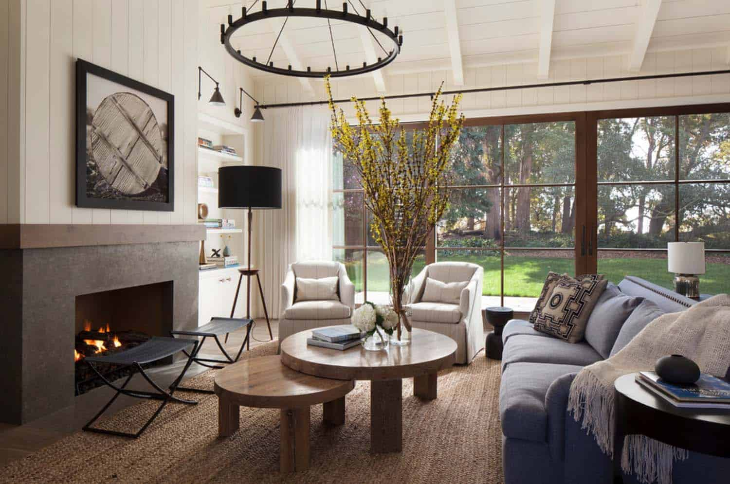 Images Of Modern Farmhouse Interiors Rustic Chic Farmhouse Style Dwelling In Northern California