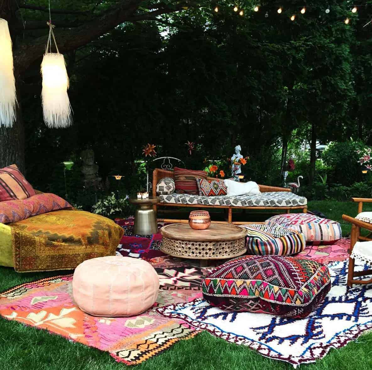 Alfombra Boheme 28 Absolutely Dreamy Bohemian Garden Design Ideas