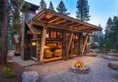 Cozy mountain style cabin getaway in Martis Camp, California