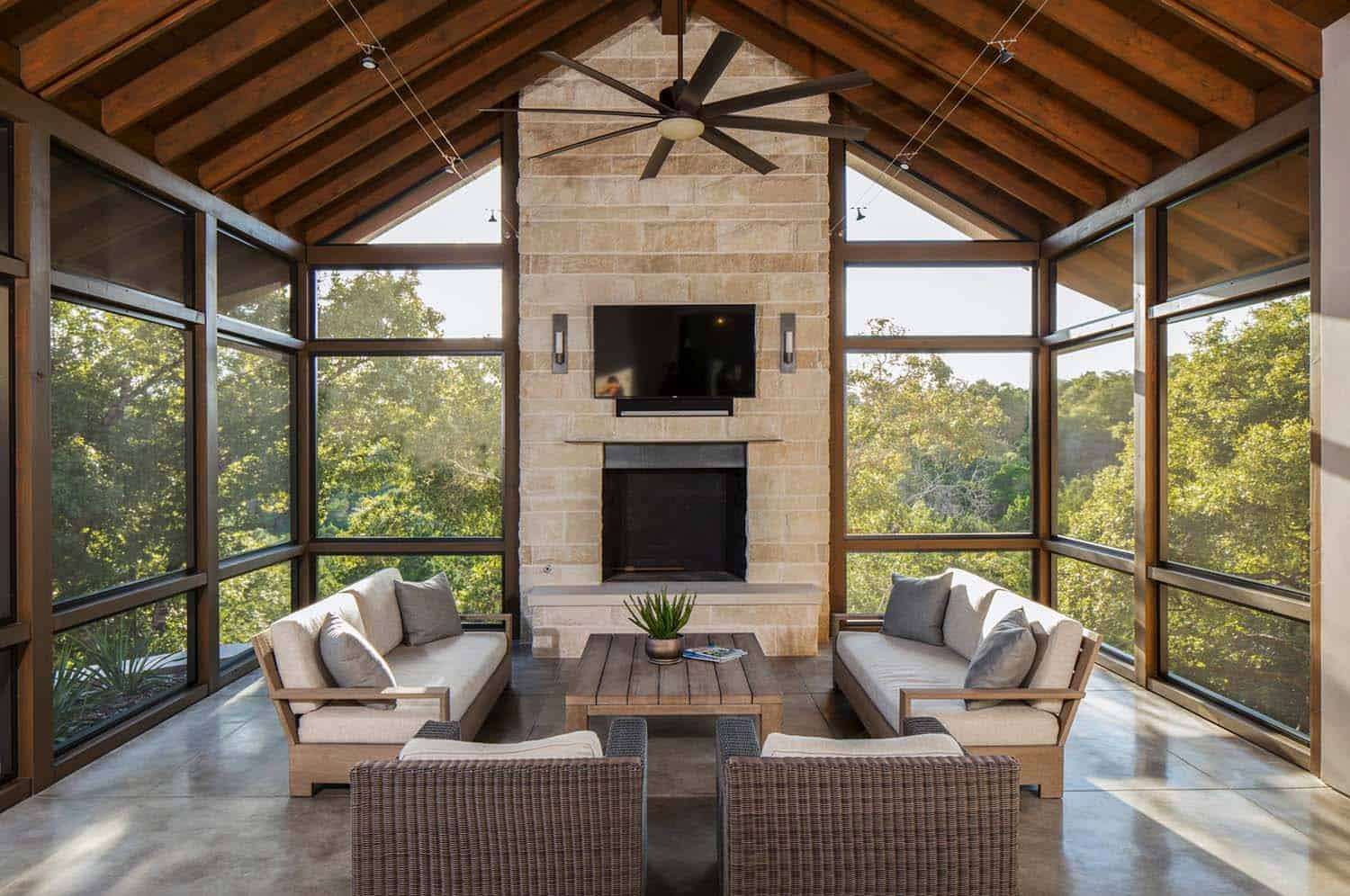 Patio Screening Ideas 38 Amazingly Cozy And Relaxing Screened Porch Design Ideas