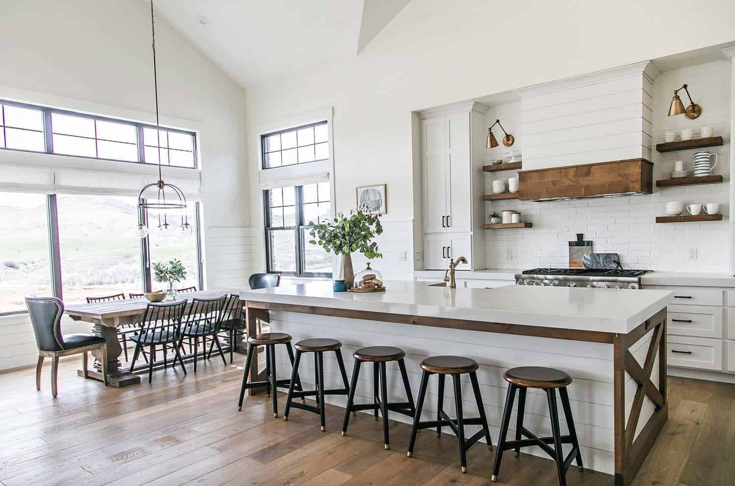 Images Of Modern Farmhouse Interiors Modern Farmhouse Style In Utah Features Stylish Living Spaces