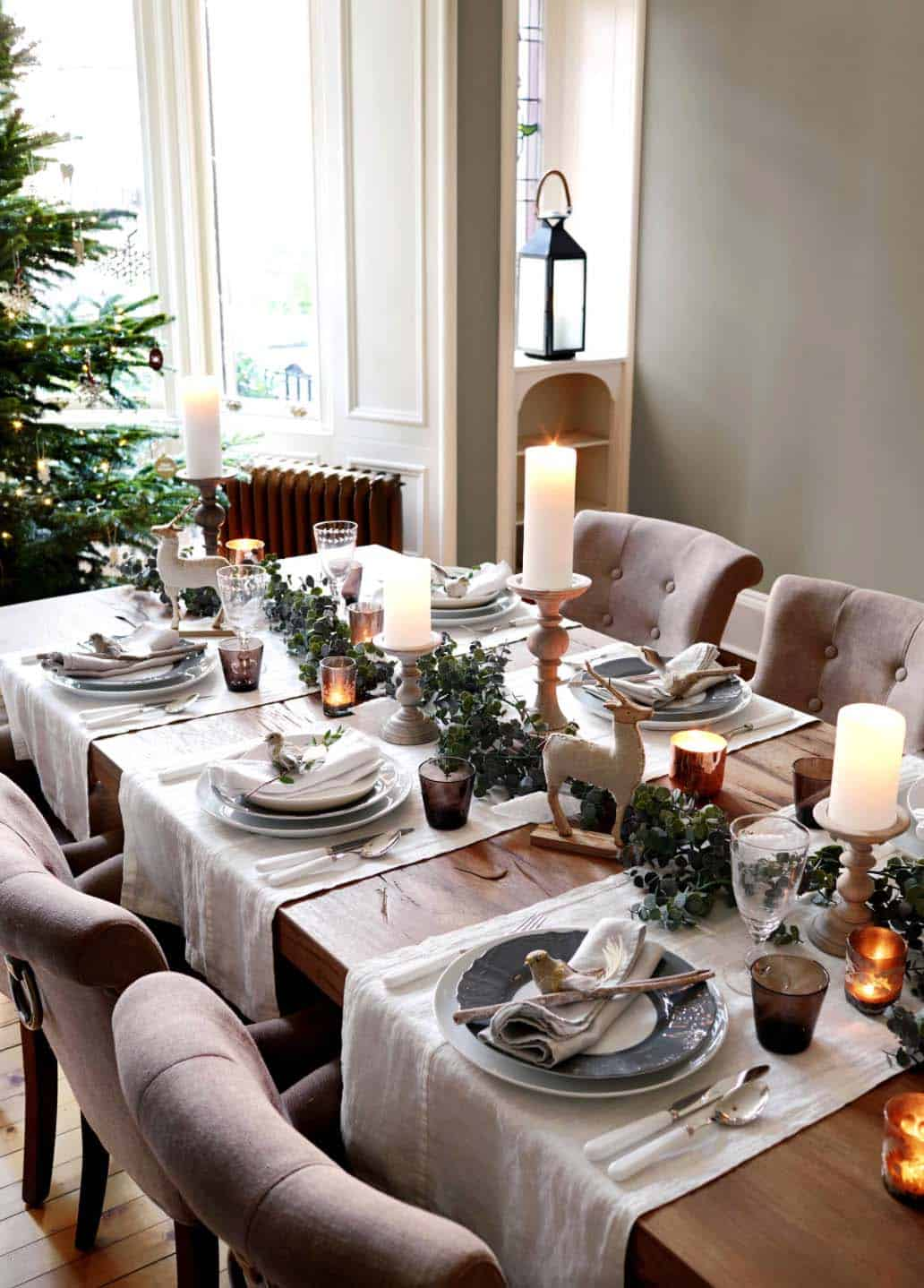 Decorating Ideas Dining Table 33 Inspiring Christmas Decor Ideas To Elevate Your Dining Table