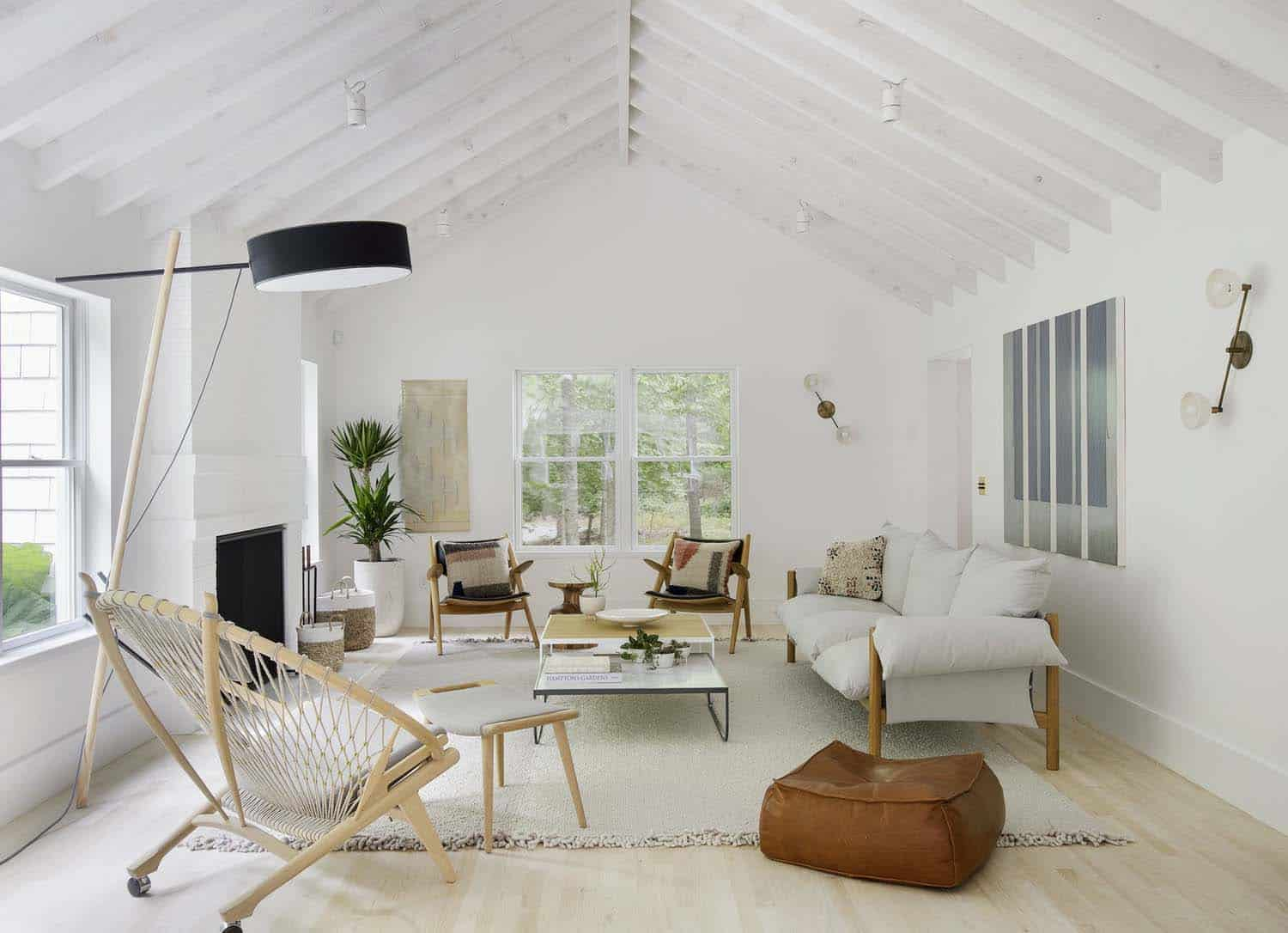 Scandi Style Scandinavian Style Beach Retreat Gets Radiant Makeover In