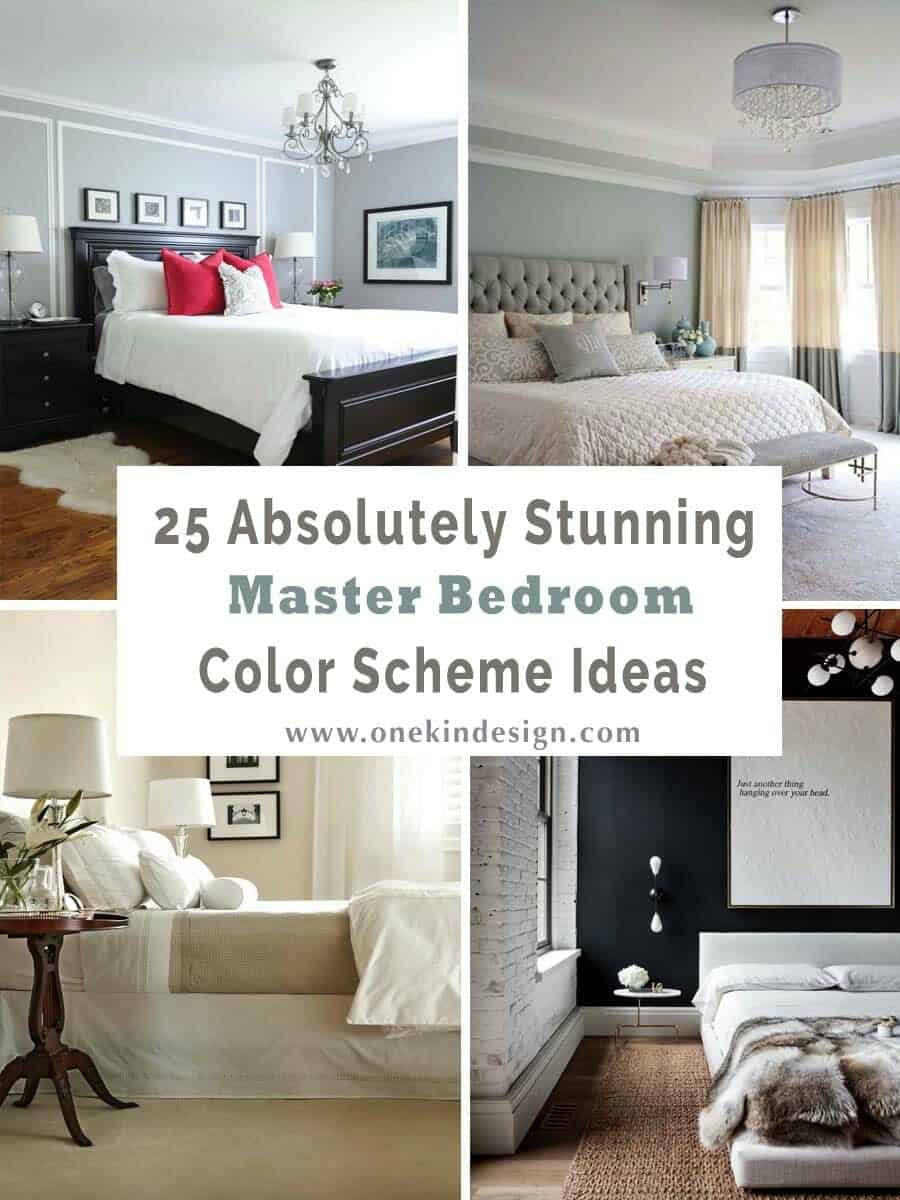 Furniture For Bedrooms Ideas 25 Absolutely Stunning Master Bedroom Color Scheme Ideas