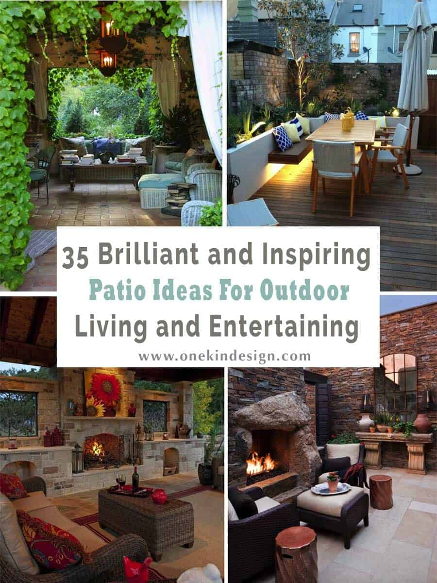 Patio Layout Designs 35 Brilliant And Inspiring Patio Ideas For Outdoor Living And Entertaining
