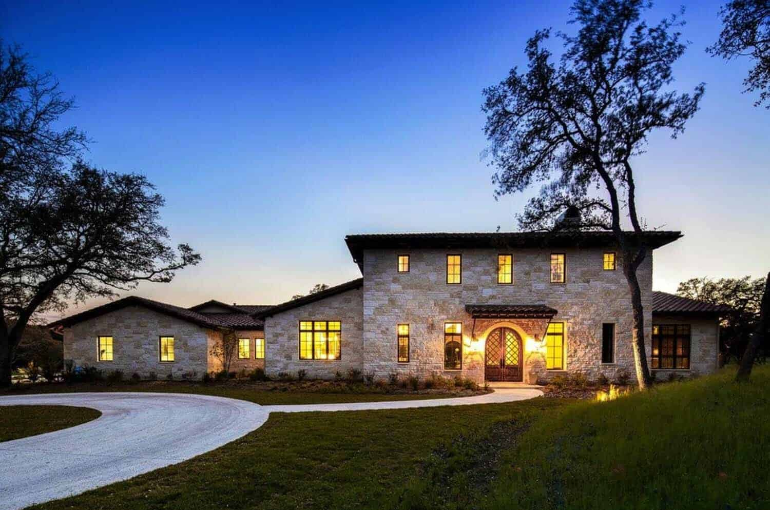 Mediterran Haus Mediterranean Inspired Home Meets Texas Hill Country Modern