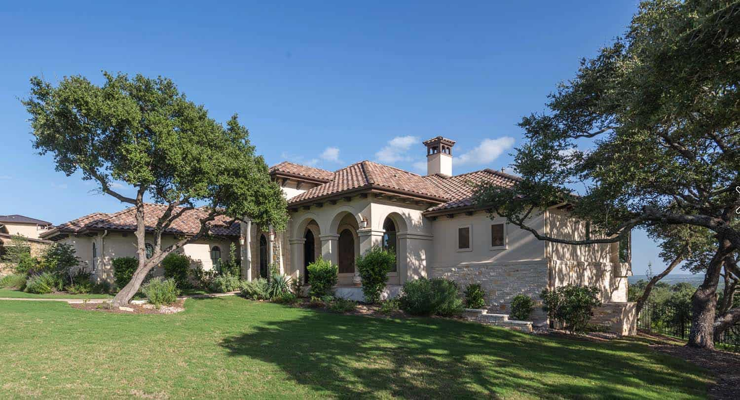 Spanish Colonial Meets Traditional In A Beautifully Styled Texas Home