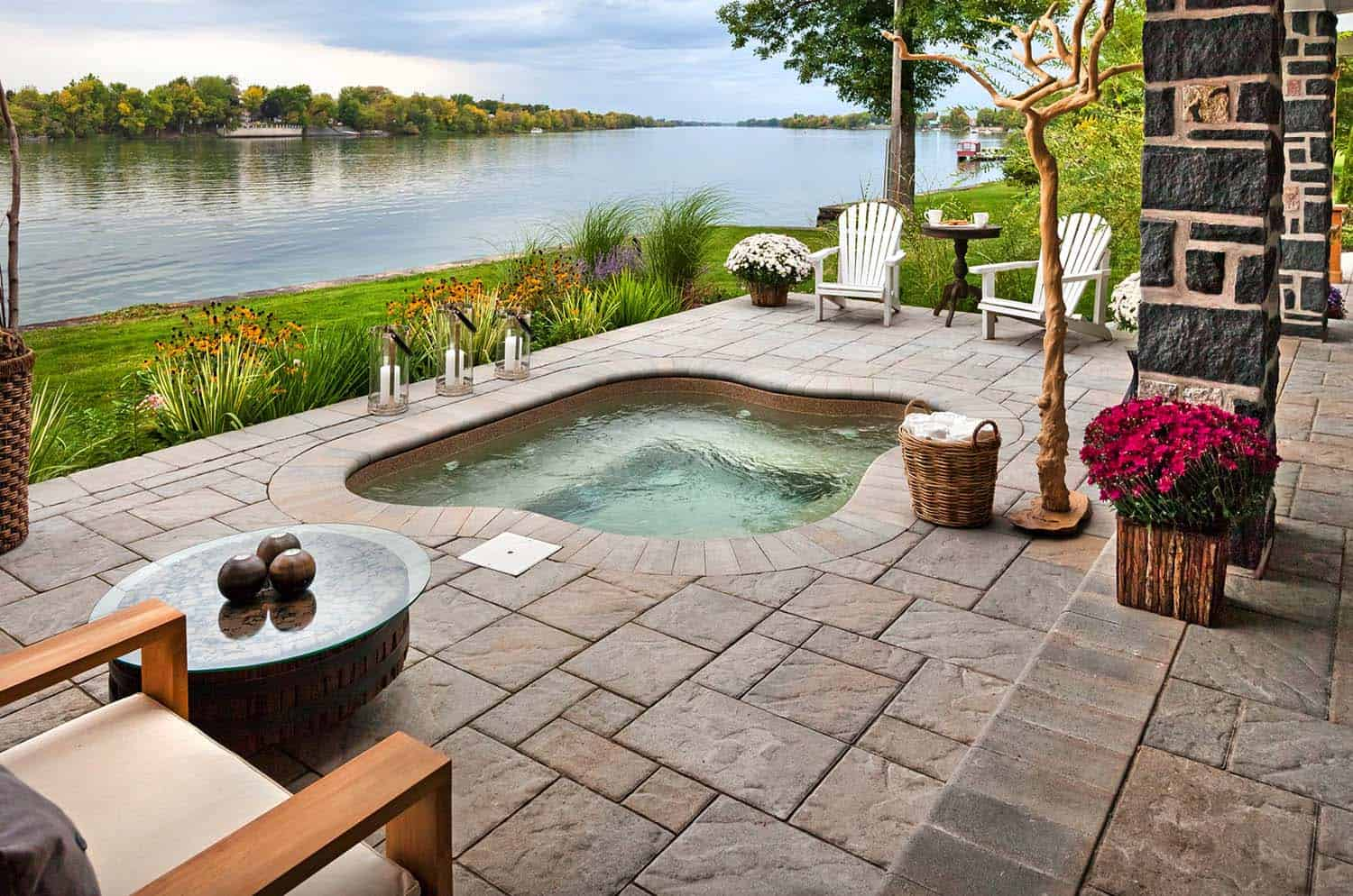 Jacuzzi Pool Design 40 Outstanding Hot Tub Ideas To Create A Backyard Oasis