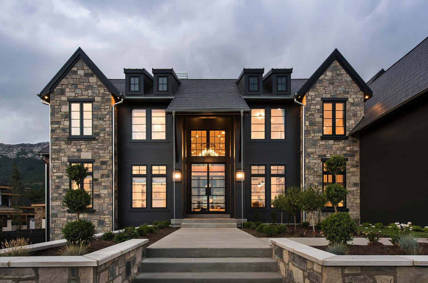 Modern French Farmhouse Exterior Step Inside A Farmhouse Modern Design In Utah That S Jaw Dropping