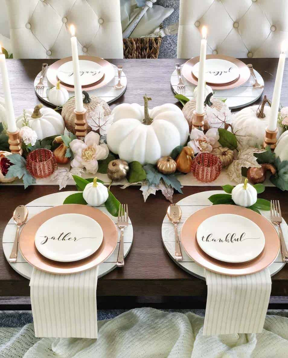 30 Absolutely Amazing Fall Table Decor Ideas For Entertaining