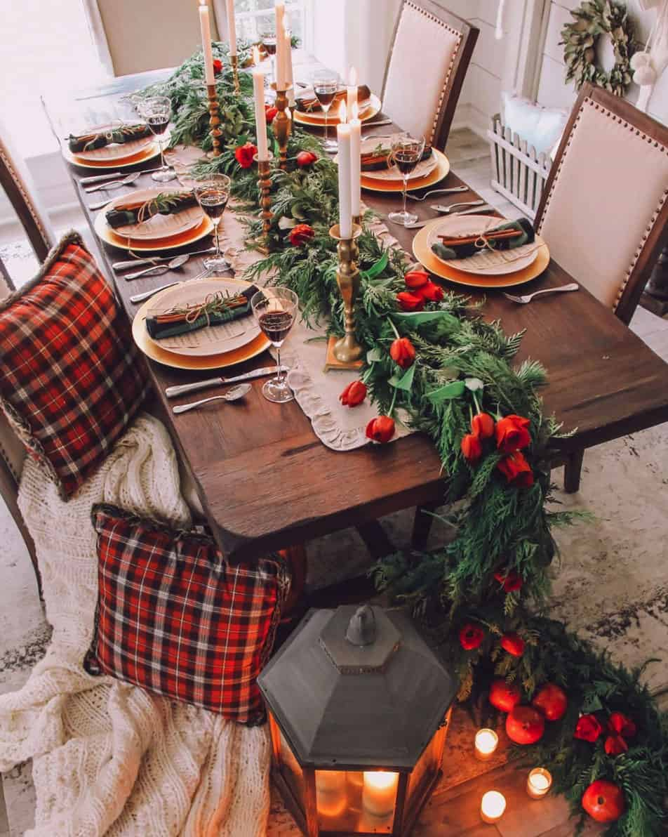 20 Gorgeous Christmas Table Setting Ideas For An Unforgettable Holiday