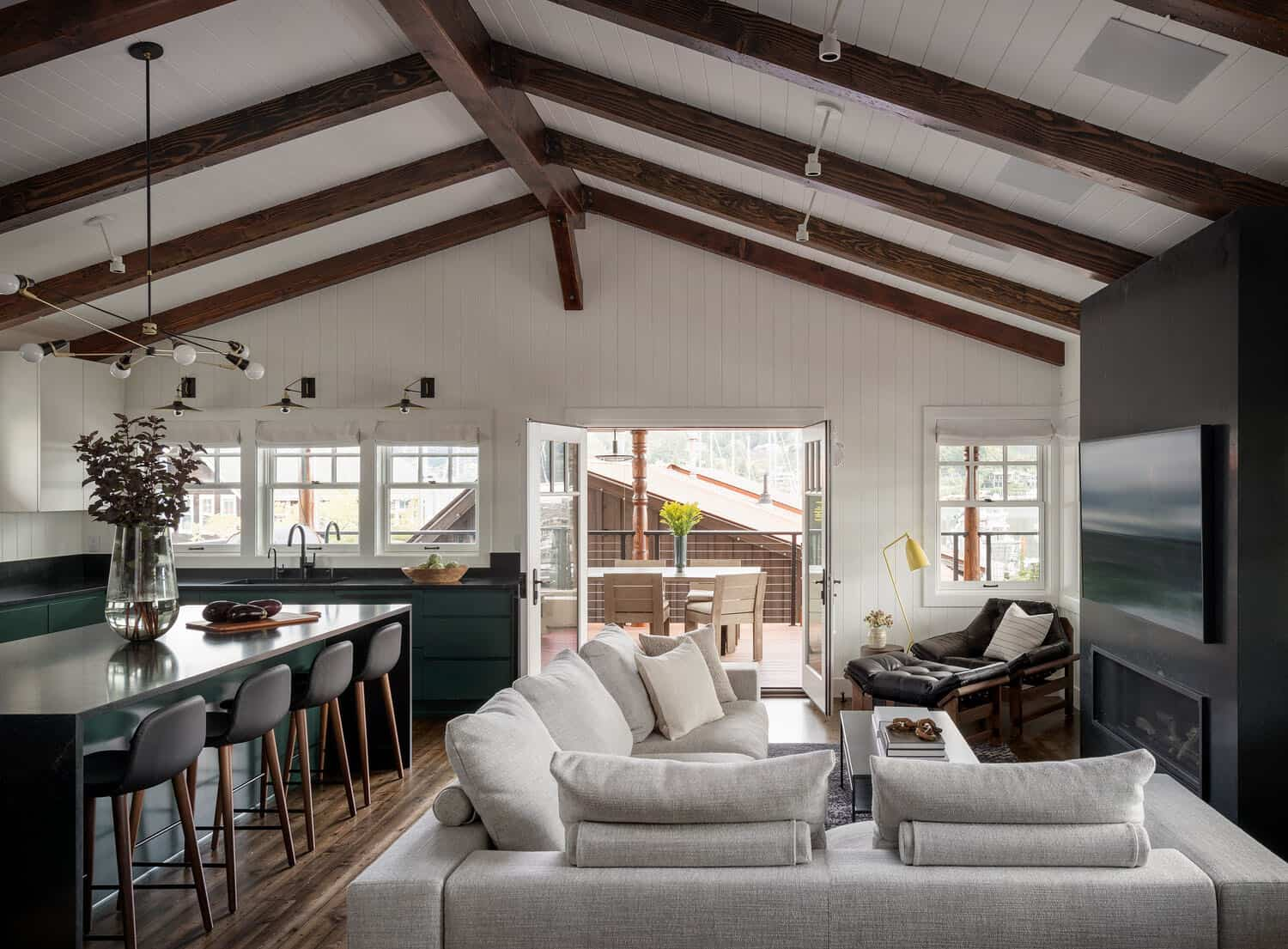 Charming Waterfront Getaway Gets A Modern Refresh In Gig Harbor Interior Design Blogs