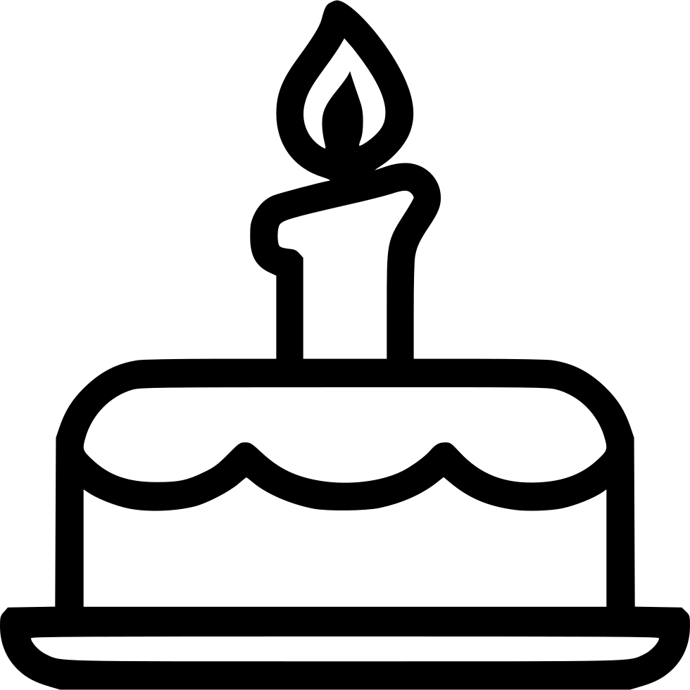 Birthday Candle Hat Birthday Cake Svg Png Icon Free Download (#431545