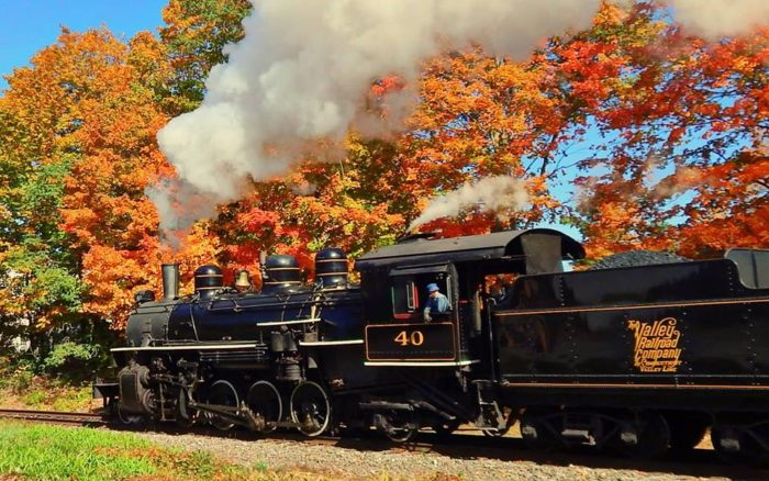 Fall In New England Wallpaper Fall Foliage Train Ride In Connecticut