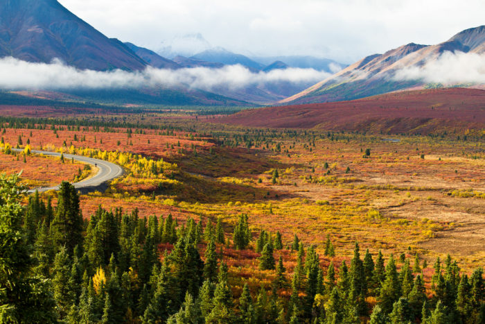 Fall Mountain Scenery Wallpaper 23 Best Places To See Fall Foliage In Alaska For 2016